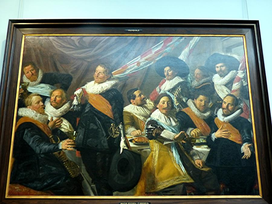 Haarlem - Frans Hals Museum; 'The Banquet of the Officers of the St George Militia Company'