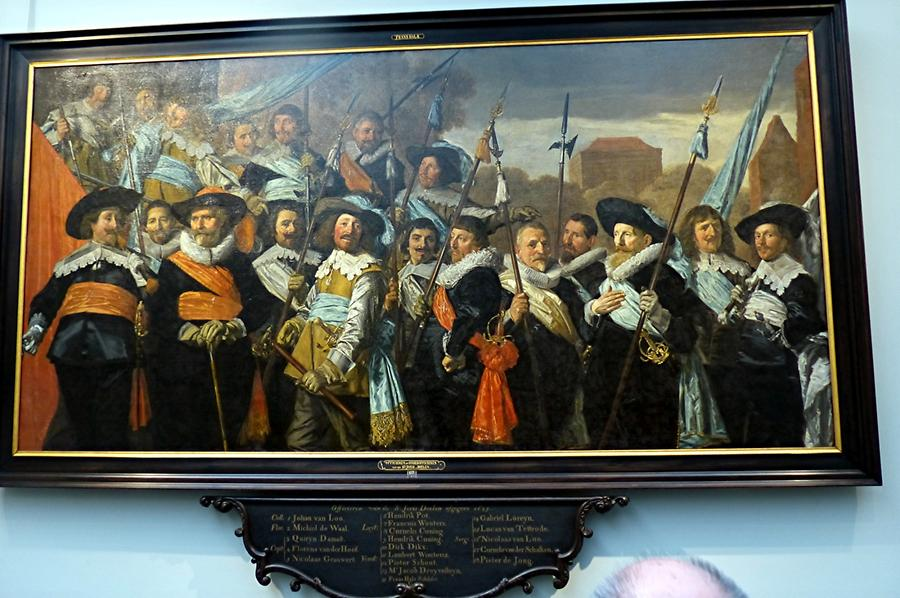 Haarlem - Frans Hals Museum; 'The Officers of the St George Militia Company'