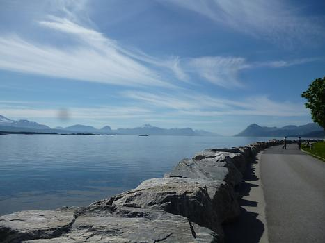 Molde - Harbour view, Photo: T. Högg, 2014