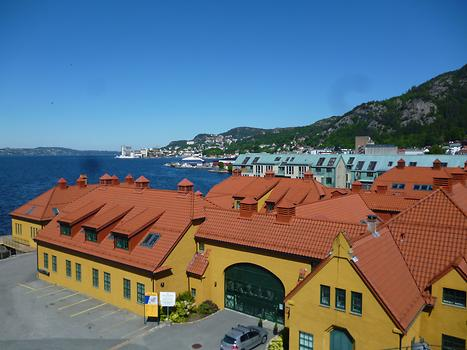 Bergen - Harbour roofs, Photo: T. Högg, 2014