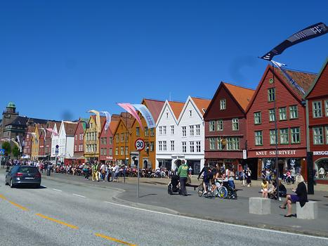 Bergen - Downtown wood houses, Photo: T. Högg, 2014