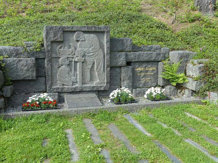 Open-Air Museum Maihaugen - Memorial for Anders Sandvig