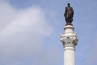 Rossio Square - Column of Pedro IV