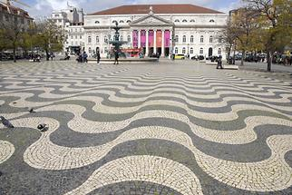 Rossio Square - National Theatre