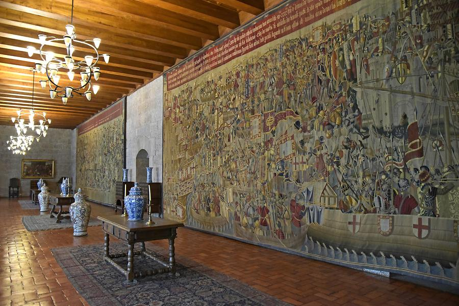 Guimarães - Palace of the Dukes of Braganza; Tapestry
