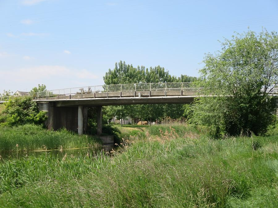 Crvenka - Channel with 'High Bridge'