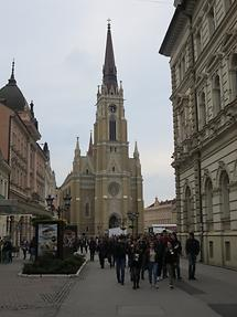 Novi Sad - The Name of Mary Church