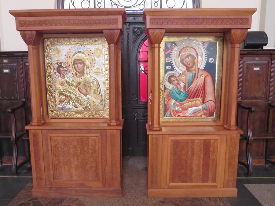 Vrsac - Serbian Orthodox Cathedral; Icons