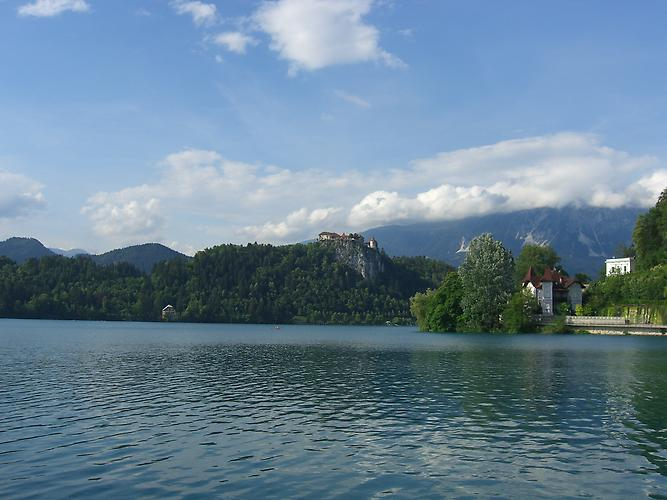 Lake Bled and Bled Castle