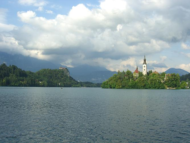 Lake Bled and Bled island
