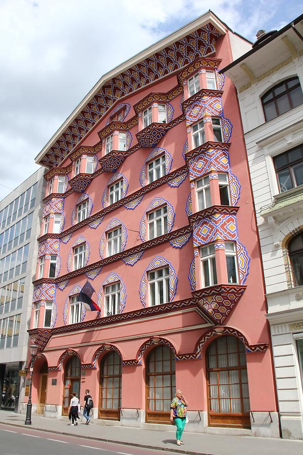 Prešeren Square - Art Nouveau Buildings