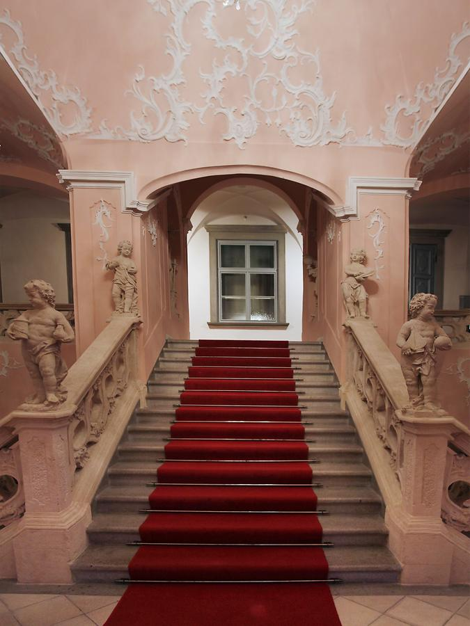 Castle - Staircase to Knights' Hall