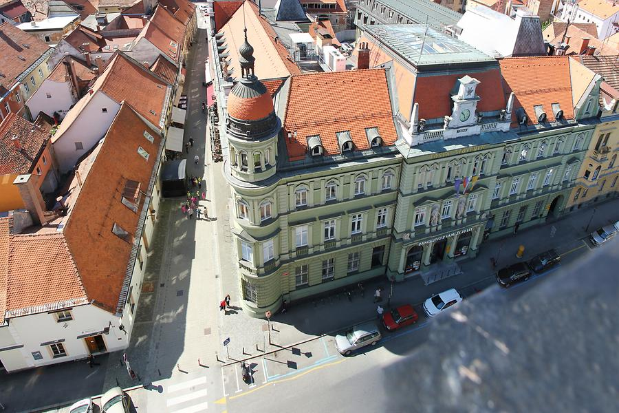 Maribor Cathedral - Panoramic View; Central Post Office