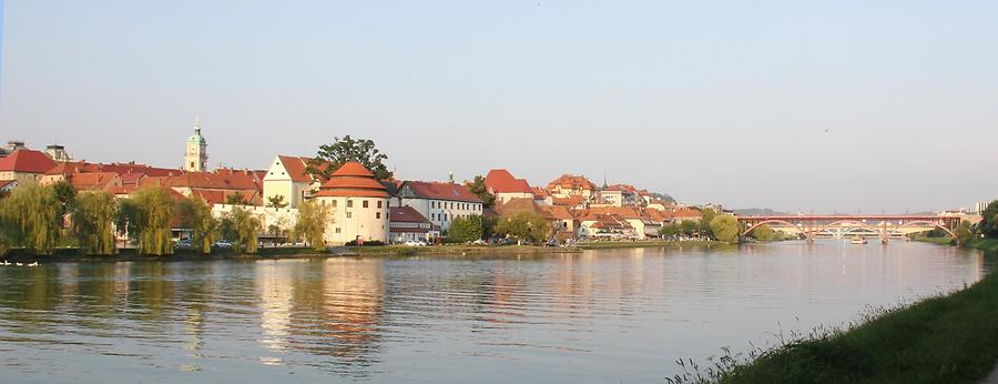 Maribor at Sunset