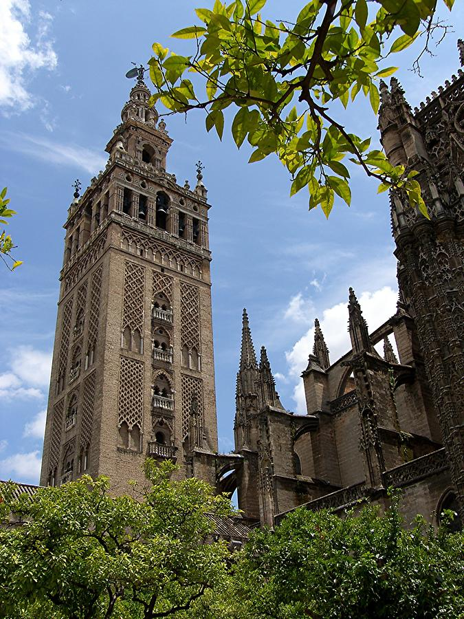 Seville Cathedral – Belltower Giralda