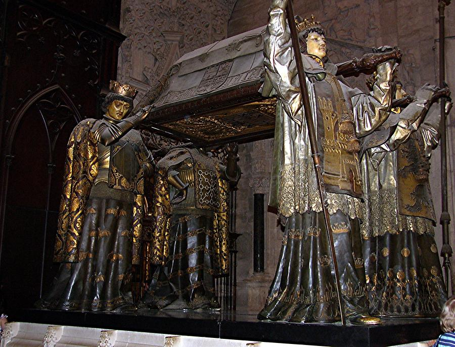 Seville Cathedral – Tomb of Christopher Columbus