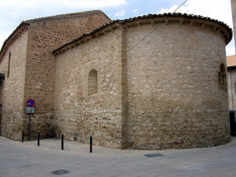 Baeza Romanesque Church Santa Cruz
