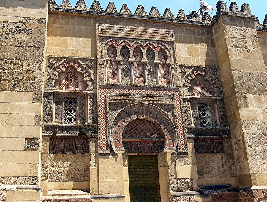 Cordoba Mosque-Cathedral Facade