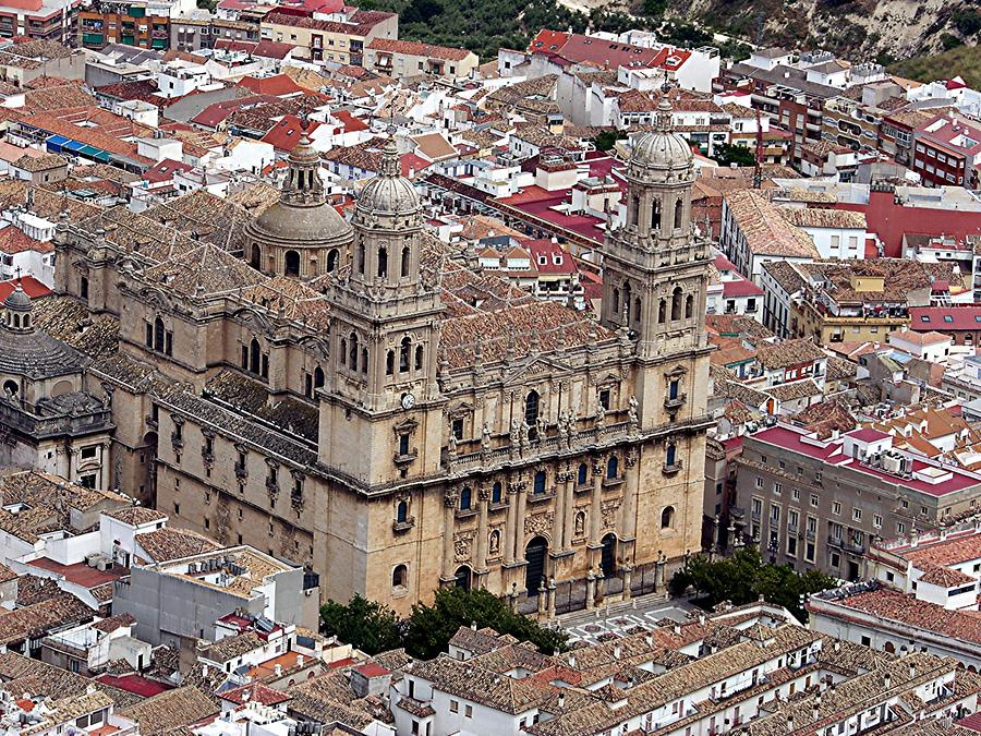 Jaen – View of the Cathedral