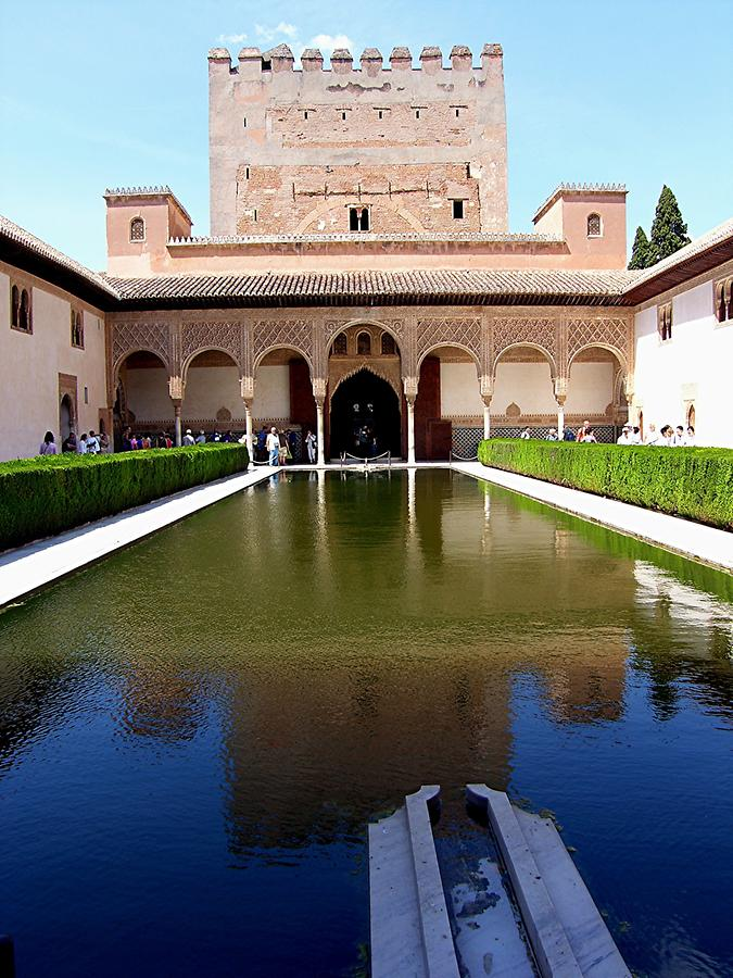 Granada – Alhambra: Nasrid Palace - Court of the Myrtles