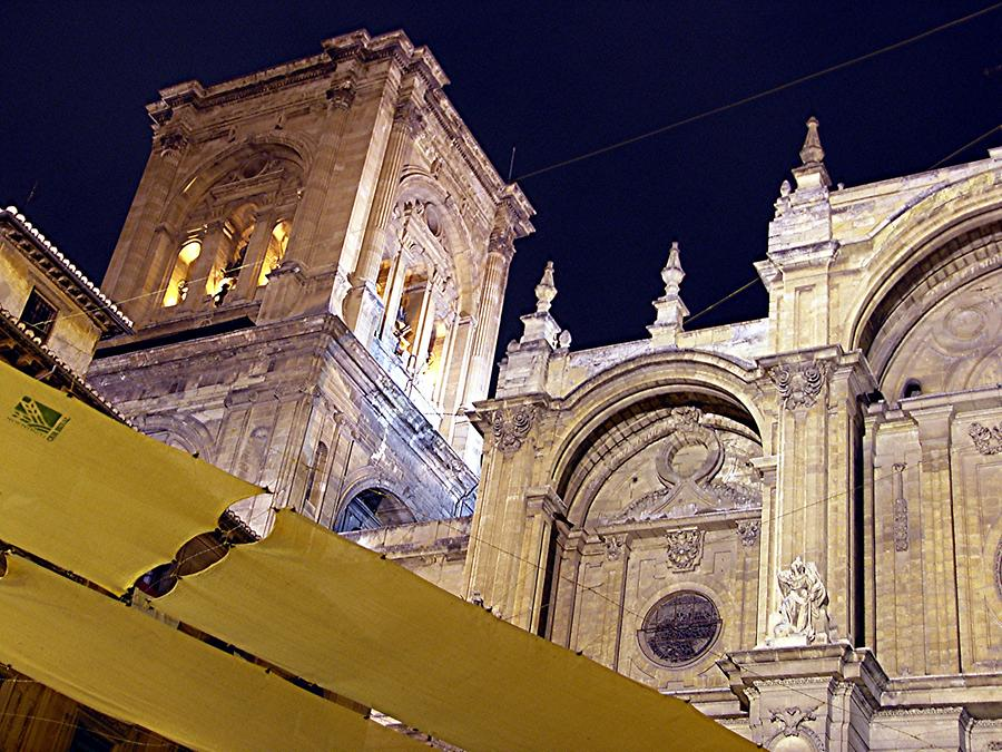 Granada – Cathedral at Night