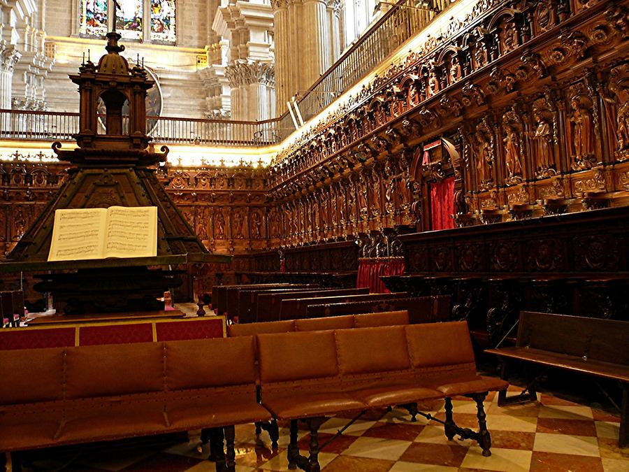 Malaga – Cathedral Choir Stalls