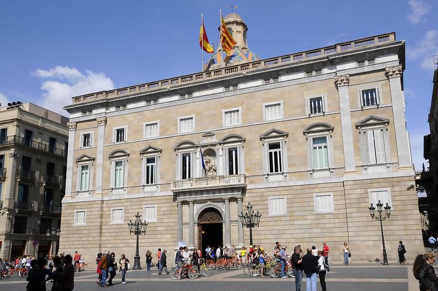 Palau de la Generalitat, the Seat of the Government