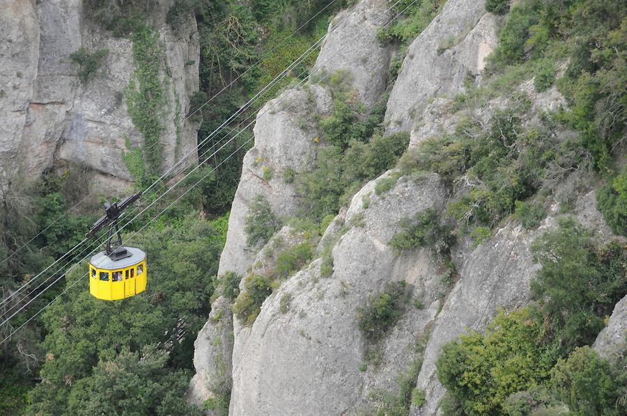 Cablecar to the Abbey