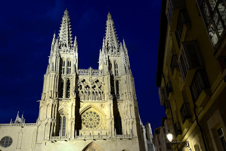 Burgos - Cathedral at Night