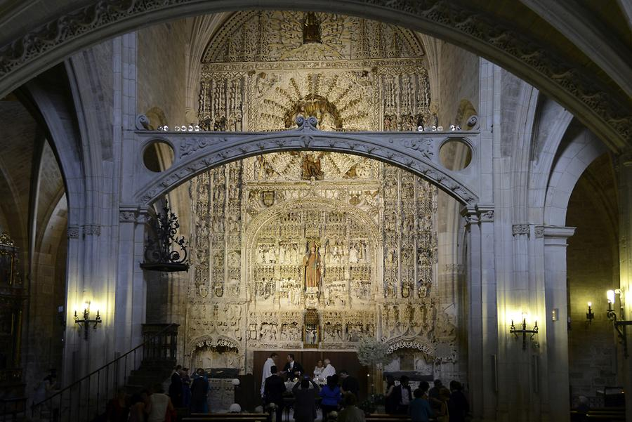 Burgos - San Esteban Church, Altar