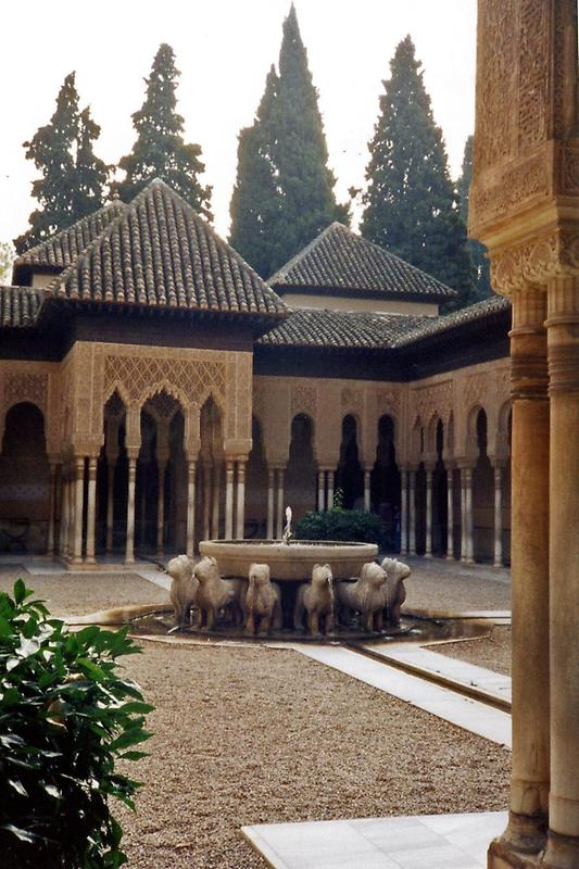 Courtyard of the Lions