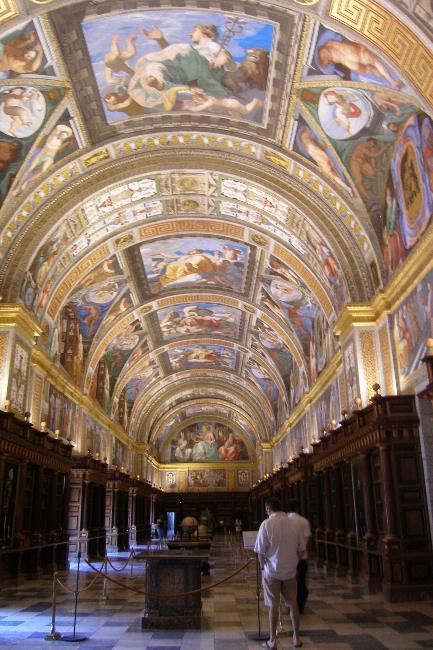 The library at El Escorial