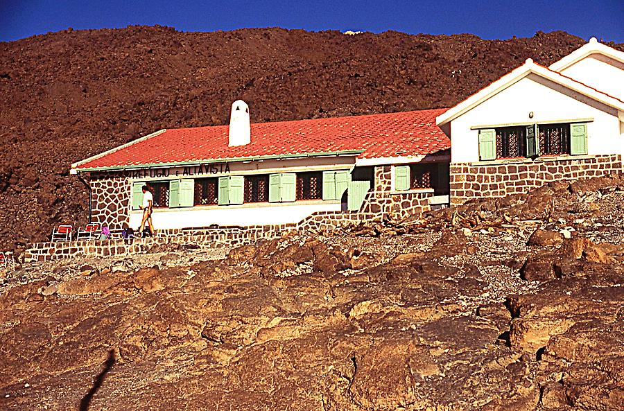 "Hut ""Alta Vista"" on Teide"