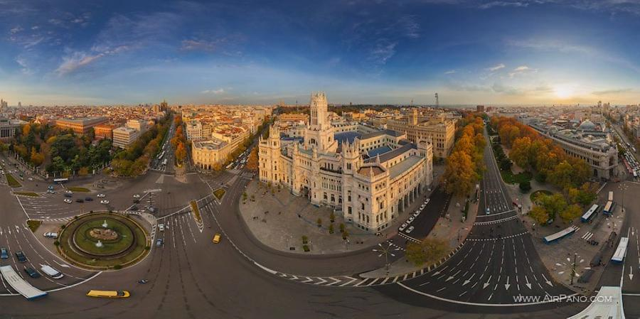 Cibeles Palace, or the Palace of Communication