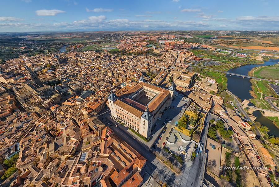 Alcázar of Toledo, © AirPano