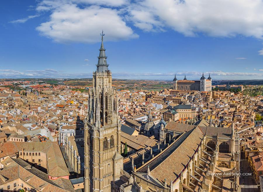 Toledo Cathedral (Primate Cathedral of Saint Mary of Toledo), © AirPano