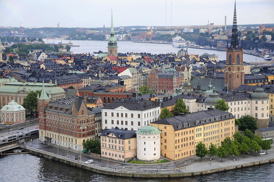 View of Gamla Stan
