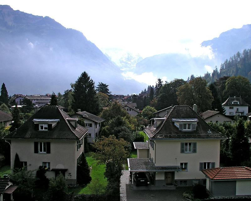 Sturdily built Swiss homes