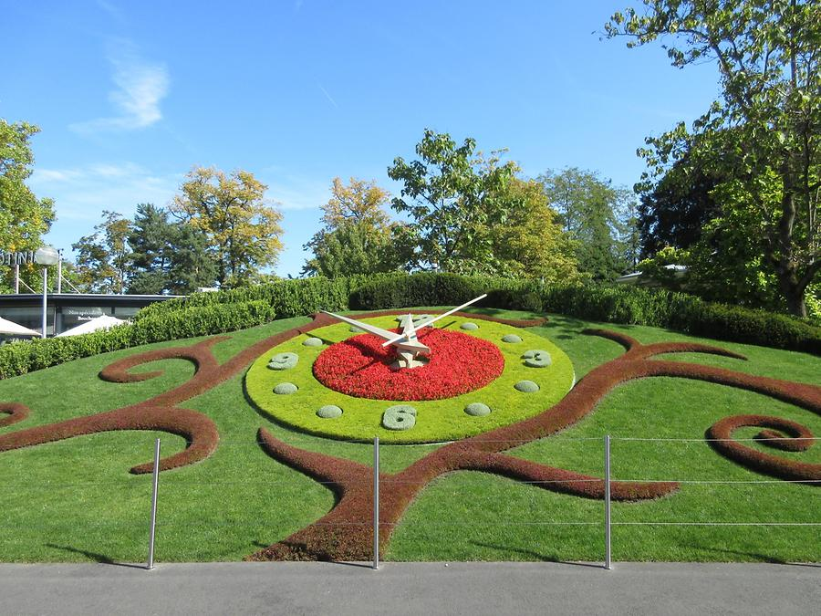 Geneva - English Garden; Flower Clock
