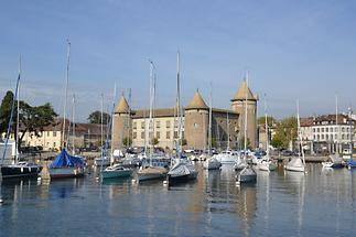 Morges - Morges Castle and Marina