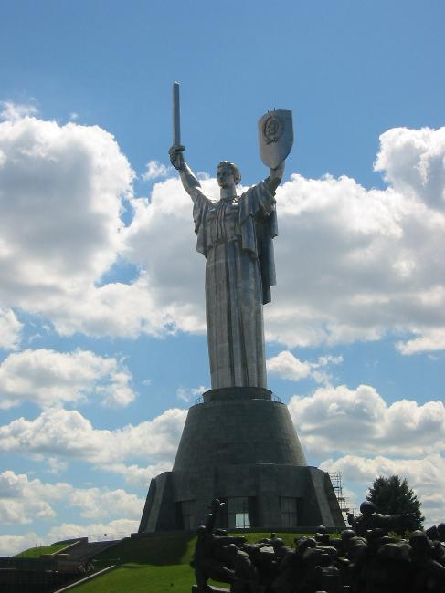 Soviet-era Motherland Monument