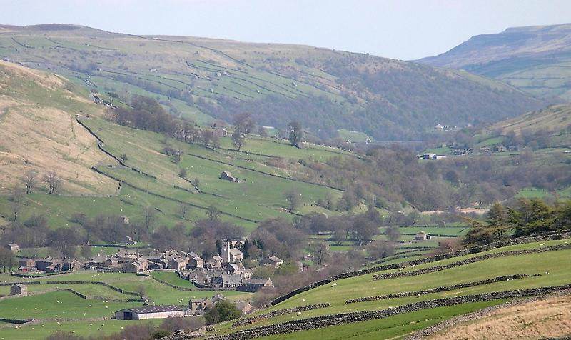 Valley in Yorkshire