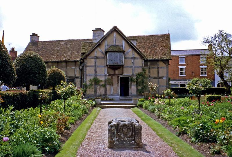 William Shakespeares birthplace