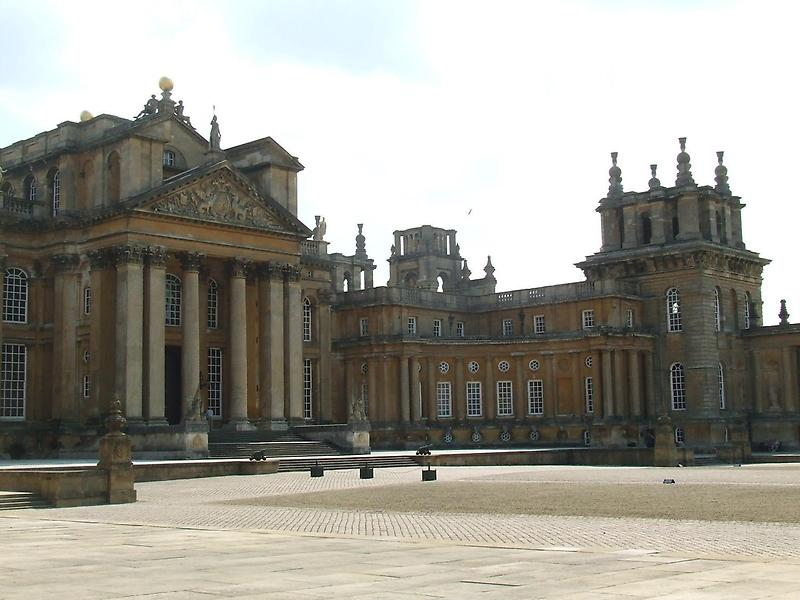 Blenheim Palace in Oxforshire