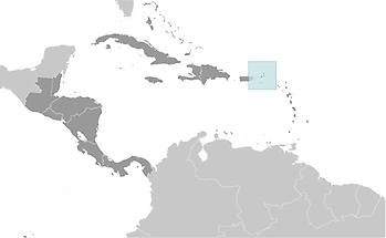 British Virgin Islands in Central America and Caribbean
