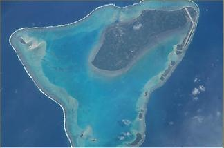 A close up view of Aitutaki