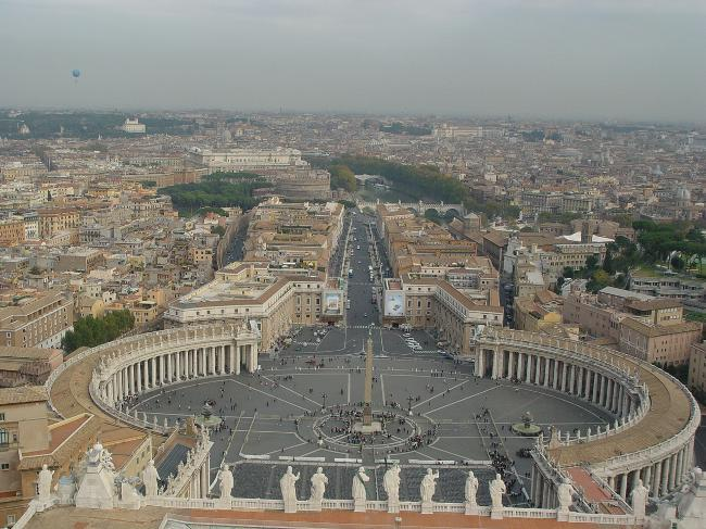 View of St. Peters Square