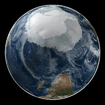 Global view of the Antarctic