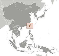 Taiwan in East And SouthEast Asia