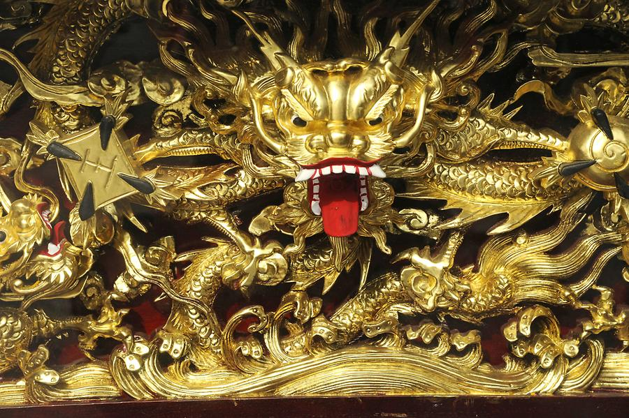 Dragons, Wen Wu Temple